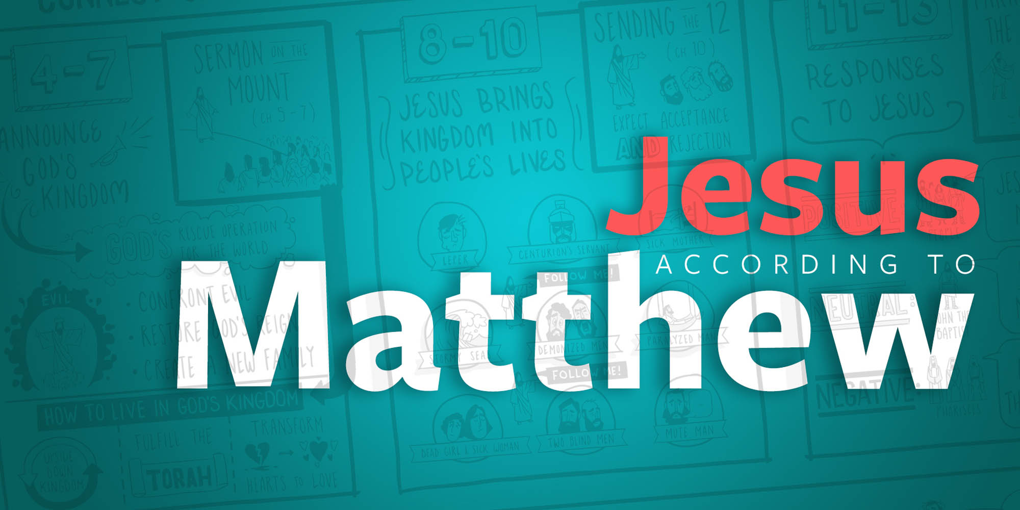 Jesus According to Matthew - Web Landing Page (2000x1000)