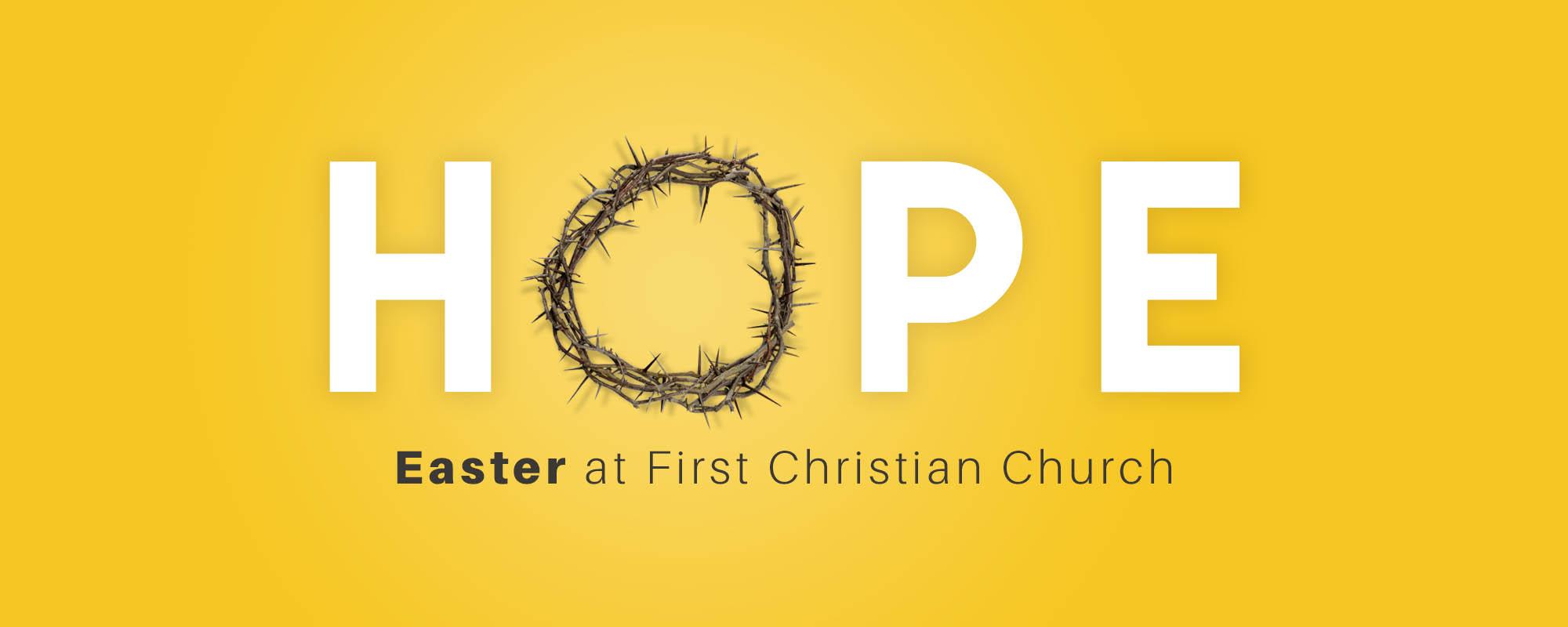 Easter 2017 - Web Banner